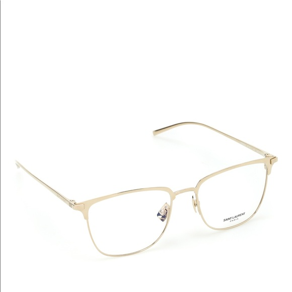 cd9acfdf46 SAINT LAURENT gold metal frame opticals. M 5a5e69ce05f43051052acf4c